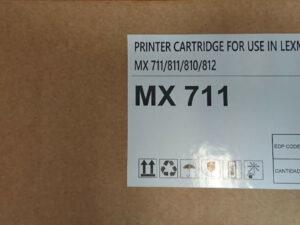 LEXMARK MX711/810 toner 45K 622X R-OEM