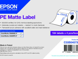 Epson 210mm X 297mm 184 matt címke