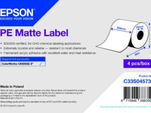Epson 203mm X 55m matt címke