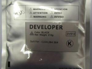 MINOLTA C224 developer BK /FU/ DV512K (For use)