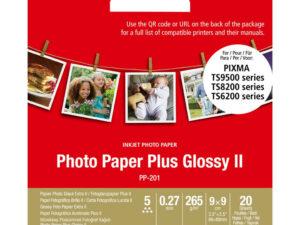 Canon 9x9 PP201 20ív 265g fényes fotópapír