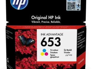 HP 3YM74AE Patron Tri-Color No.653 (Eredeti)