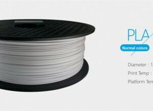 3D FILAMENT 1,75mm PLA Fehér /1kg-os tekercs/
