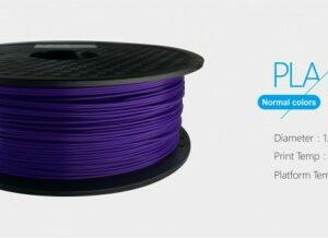 3D FILAMENT 1,75mm PLA Lila /1kg-os tekercs/