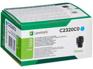 Lexmark C2320C0 Cyan toner 1k /o/