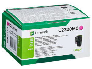 Lexmark C2320M0 Magenta toner 1k /o/