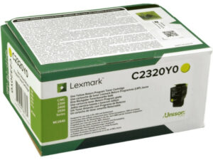 Lexmark C2320Y0 Yellow toner 1k /o/