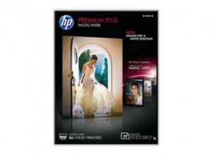HP 13x18 Premium Plus Fényes Fotópapír 20lap 300g (Eredeti)