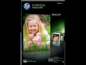 HP 10X15 Fényes Fotópapír 100lap 200g (Eredeti)