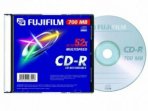 CD-R 80 Fuji 700MB 52x slim