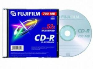 CD-R 80 Fuji 700MB 52x slim