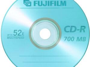 CD-R 80 Fuji 700MB papírtokban