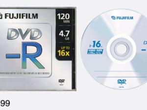 DVD-R Fuji 4,7GB 16x,vékony tok