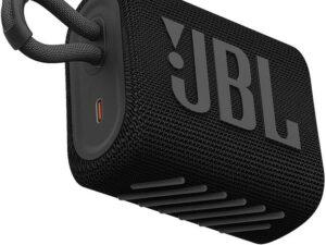 JBL Go 3 bluetooth hangszóró, vízhatlan (fekete)