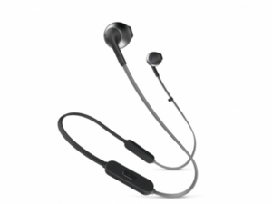 JBL T205 BT fülhallgató (fekete)