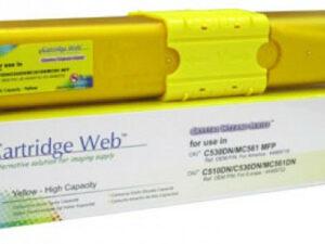 OKI C510/C530 Cartridge Yellow 5K (New Build) CartridgeWeb