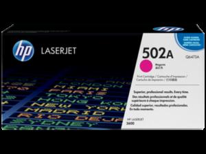 HP Q6473A Toner Magenta 4k No.502A (Eredeti)