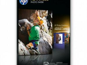 HP 10x15 Fényes Fotópapír 100lap 250g (Eredeti)