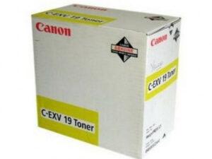 Canon ImagePress C Toner Yellow /eredeti/ CEXV19+