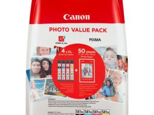 Canon CLI581XL BK/C/M/Y Multipack /EREDETI/