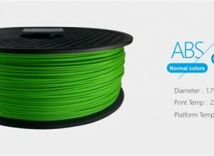 3D FILAMENT 1,75mm ABS Zöld (1kg-os tekercs)