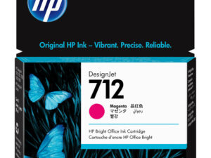 HP 3ED68A Patron Magenta 29ml No.712 (Eredeti)