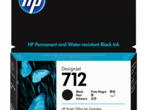 HP 3ED70A Patron Black 38ml No.712 (Eredeti)