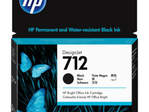 HP 3ED71A Patron Black 80ml No.712 (Eredeti)