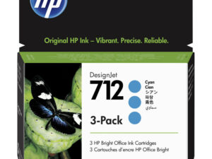 HP 3ED77A Patron 3Pack Cyan 29ml No.712 (Eredeti)