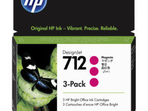 HP 3ED78A Patron 3Pack Magenta 29ml No.712 (Eredeti)