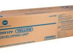 Minolta DV512Y Developer Unit Yellow (Eredeti)