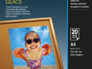Epson A/4 Fényes Fotópapír 20Lap 200g (Eredeti)