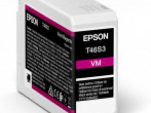 Epson T46S3 Patron Vivid Magenta 25ml (Eredeti)