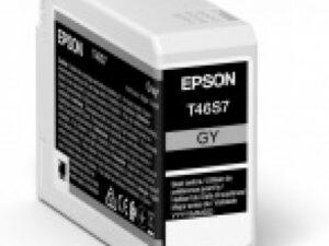 Epson T46S7 Patron Gray 25ml (Eredeti)
