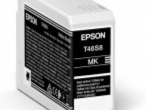 Epson T46S8 Patron Matte Black 25ml (Eredeti)