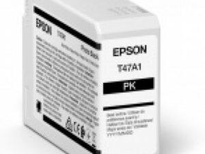 Epson T47A1 Patron Photo Black 50 ml (Eredeti)