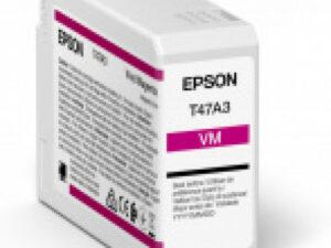 Epson T47A3 Patron Vivid Magenta 50 ml (Eredeti)