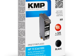 HP C6615D Black KMP No.15 (For Use)