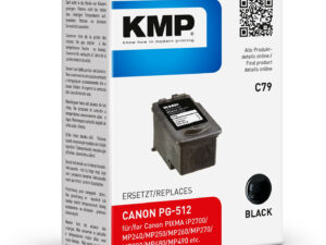 CANON PG512 Bk KMP (For Use)