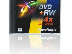 DVD+RW 4,7GB 4x normál tokos
