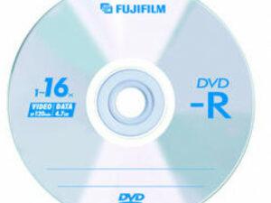 DVD-R FUJI 4,7GB 16x papírtok