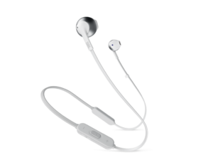 JBL T205 BT fülhallgató (ezüst)