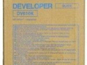Minolta DV610 Bk. Developer (Eredeti)