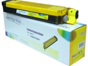 OKI C8600/C8800 Cartridge Yellow 6K (New Build) CartridgeWeb