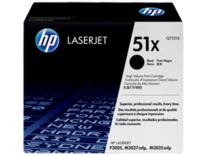 HP Q7551X Toner Black 13k No.51X (Eredeti)