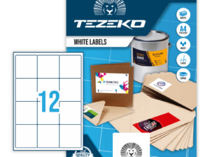 Tezeko kerekített négyszög 66 x 70 címke