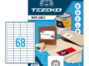Tezeko négyszög 48,5 x 16,9 címke