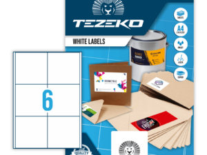 Tezeko négyszög 98,6 x 98 címke