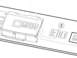 LEX 40X7741 Control panel buttons MS710