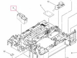 BR LEG739001 Flushing box DCP-J100